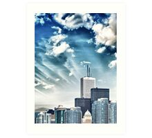 City Buildings Art Print