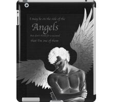 Sherlock Holmes on Side of the Angels iPad Case/Skin