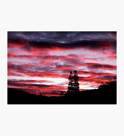 Franklin Sunset Photographic Print
