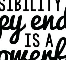 Happy Ending - Mary Margaret Sticker