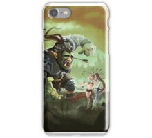 Orc problems iPhone Case/Skin