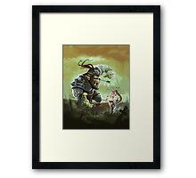 Orc problems Framed Print