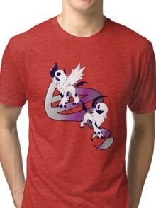 Mega Absol Evolution Tri-blend T-Shirt
