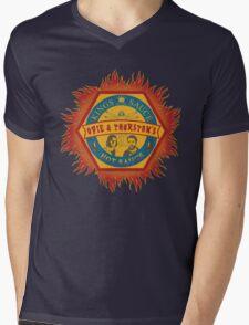 Opie and Thurston's Hot Sauce Mens V-Neck T-Shirt