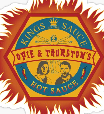 Opie and Thurston's Hot Sauce Sticker