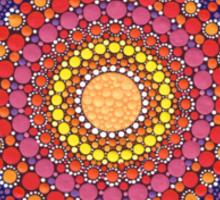 Jewel Drop Mandala Sticker