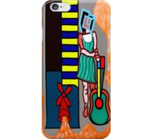 PIANO AND GUITAR iPhone Case/Skin