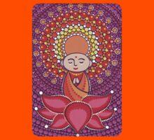 Jizo Meditating upon a Ruby Lotus Kids Clothes