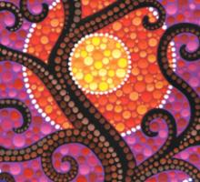 Spiralling Tree of Life Sticker