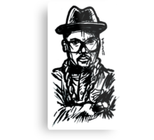 DMC Retro - Run DMC Metal Print