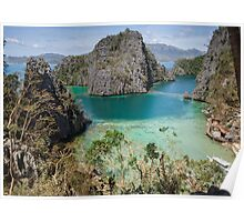 Postcard from Coron Island Poster