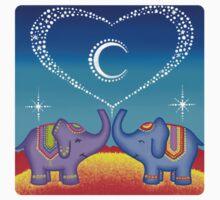 Elephant soul mates Kids Clothes