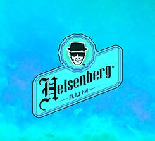 Heisenberg Rum Blue - Breaking Bad by Squally92