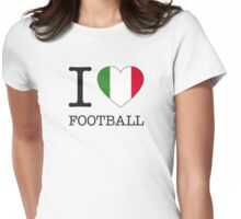 I ♥ ITALY Womens Fitted T-Shirt