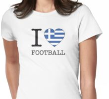 I ♥ GREECE Womens Fitted T-Shirt