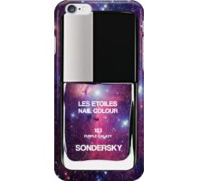Nail Polish Bottle - Galaxy Purple iPhone Case/Skin