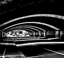 Street tunnel in Metz, France by SineTimore90