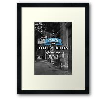 Disney - Quote Framed Print