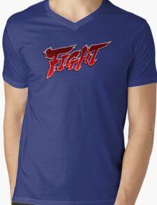 Streetfighter - Fight Mens V-Neck T-Shirt