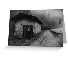 Silent Hill Oil Painting Greeting Card