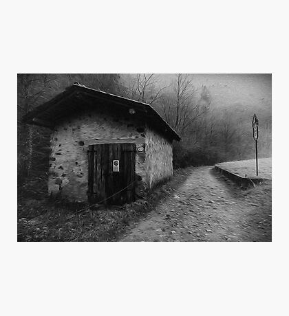 Silent Hill Oil Painting Photographic Print