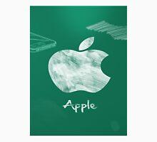 Apple logo white green Unisex T-Shirt
