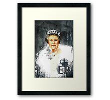 The Queen - Elizabeth II Framed Print