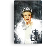 The Queen - Elizabeth II Canvas Print