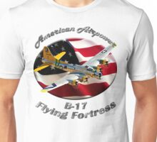 B-17 Flying Fortress American Airpower Unisex T-Shirt