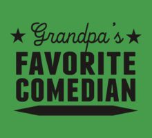 Grandpa's Favorite Comedian Kids Tee