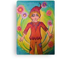 Little Poggin Canvas Print