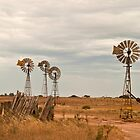 Windmills - Penong by pennyswork