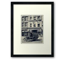 Vintage Underwood Typewriter Factory Framed Print