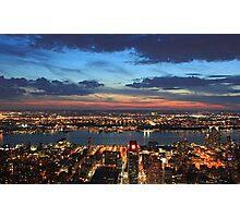 New York Evening Photographic Print