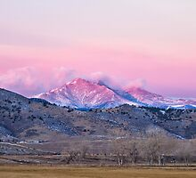 December 16th Twin Peak Sunrise View by Bo Insogna