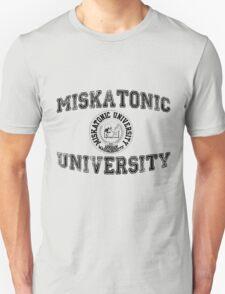 Miskatonic University (Black version) T-Shirt