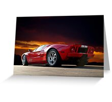 2011 Ford GT V Greeting Card