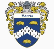 Harris Coat of Arms/Family Crest by William Martin
