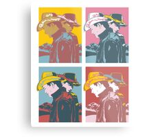 Cowboy Pop Art  Metal Print