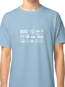 Camera Display  Classic T-Shirt