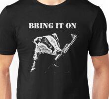 Badger Fights Back (safe) Unisex T-Shirt