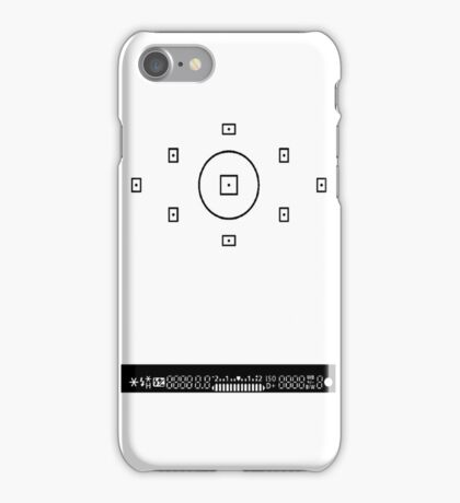ViewFinder cover iPhone Case/Skin