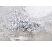 Abstract Ice Photographic Print