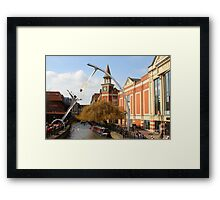 Waterside Lincoln Framed Print