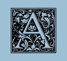 William Morris Renaissance Style Cloister Alphabet Letter A Unisex T-Shirt