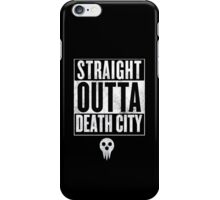 Soul Eater Straight Outta Death City iPhone Case/Skin