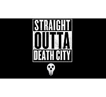 Soul Eater Straight Outta Death City Photographic Print