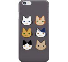 cute cats iPhone Case/Skin