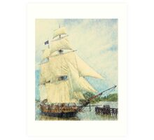 U.S. Brig Niagara - Parade of Sails Art Print