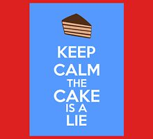 Keep Calm The Cake Is A Lie Unisex T-Shirt
